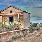 Silverton Railway Station, Western NSW, Australia by Adrian Paul