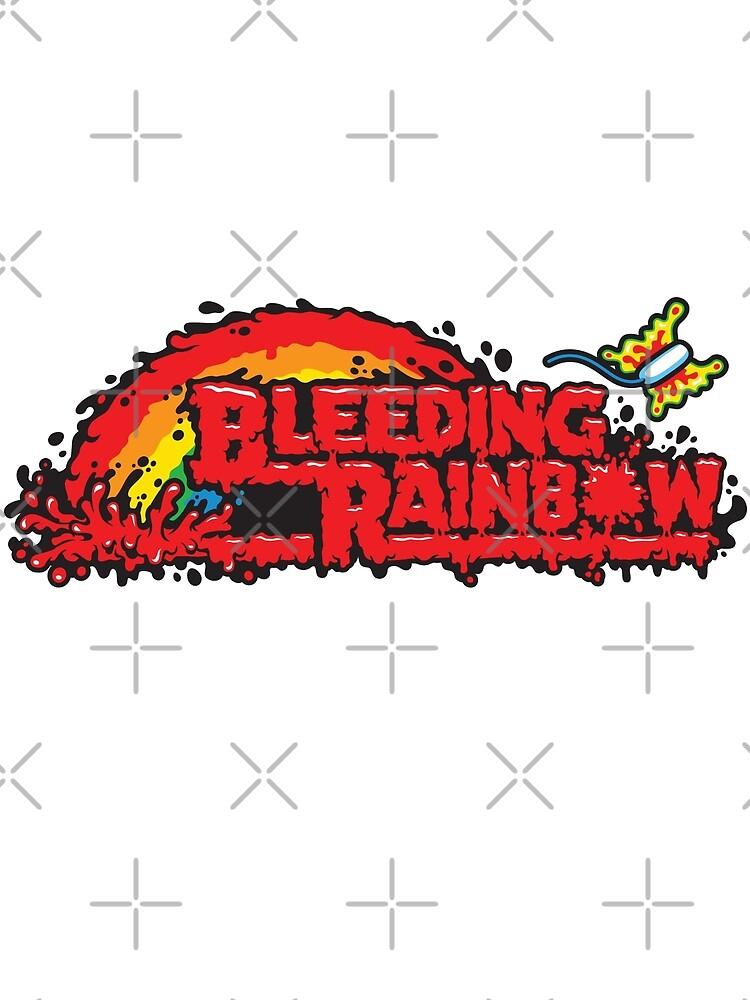 Blutender Regenbogen von harebrained