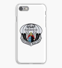USAF Para Rescue Special Forces Logo iPhone Case/Skin