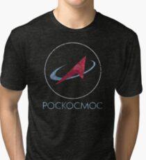 Camiseta de tejido mixto POCKOCKMOC Agencia Espacial Rusa