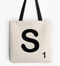 Scrabble Tile S Tote Bag