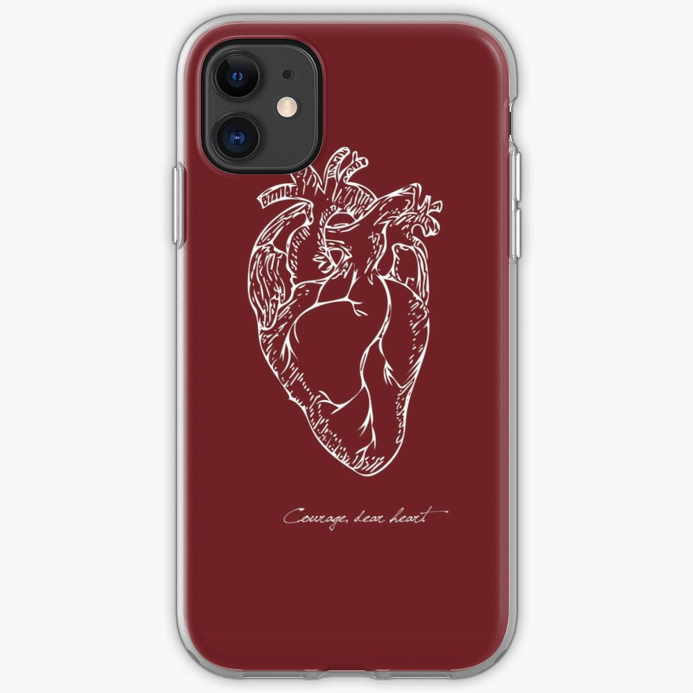 Courage Dear Heart iPhone 11 case
