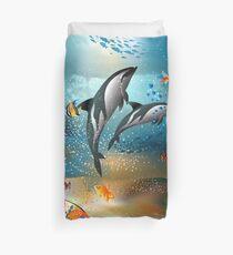 Underwater Life Duvet Cover