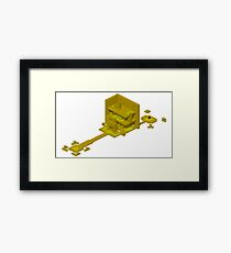 Isometric Zone 0 - OFF Framed Print