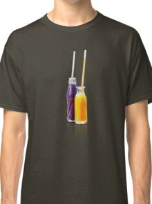 smothie bottles summer refreshing soft drinks Classic T-Shirt