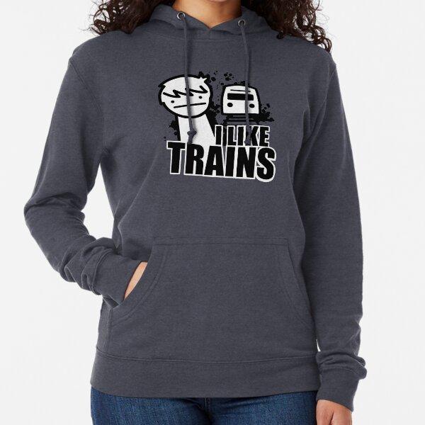 I Like Trains - asdfmovie Lightweight Hoodie