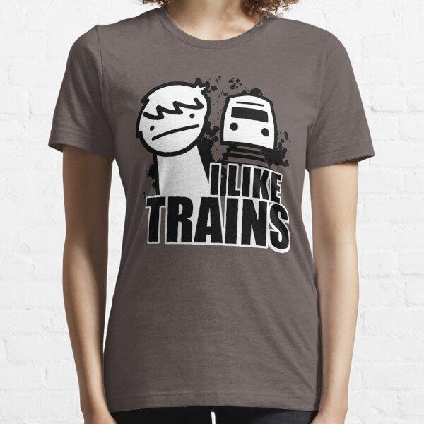I Like Trains - asdfmovie Essential T-Shirt