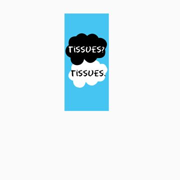 The fault in our stars tissue covers  by JessDesignsxx