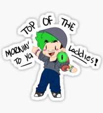 Jacksepticeye - Top Of The Mornin' To Ya Laddies! Sticker