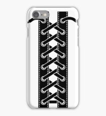 Corset lacing iPhone Case/Skin