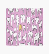Tooth or Dare, Bold Illustration Scarf