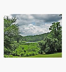 A View Of the Grounds From the Manor Photographic Print
