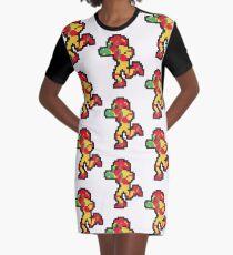 samus Graphic T-Shirt Dress