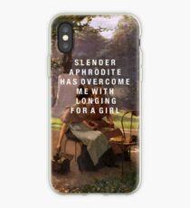 slender aphrodite iPhone Case