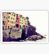 Manarola, Liguria, Italy Sticker