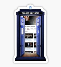 who addicts reviews- inside the Tardis Sticker