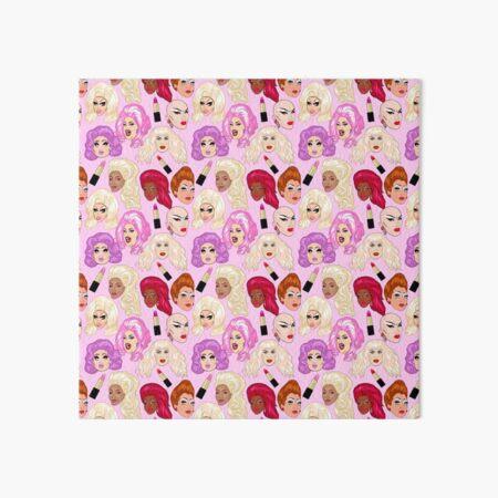 Drag Queens - pink Art Board Print