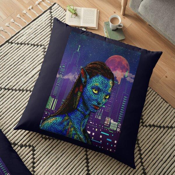 Neytiri in Newyork City Floor Pillow