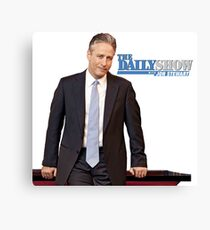 The Daily Show with Jon Stewart Canvas Print