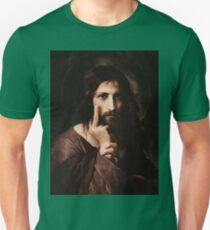 Ivan Kramskoy (1837 – 1887) Christ (middle finger) Unisex T-Shirt