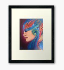 Surreal woman Framed Print