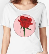 Retro Rose Women's Relaxed Fit T-Shirt