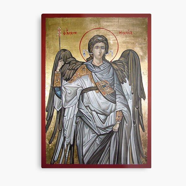 Archangel Michael - Eastern Orthodox icon Metal Print