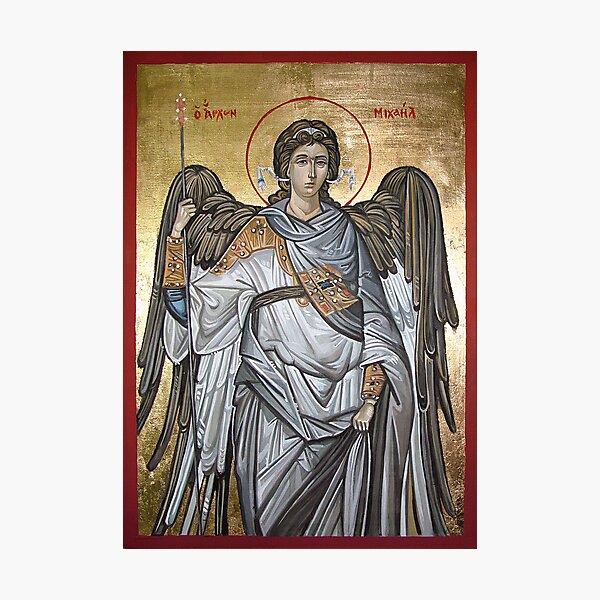 Archangel Michael - Eastern Orthodox icon Photographic Print