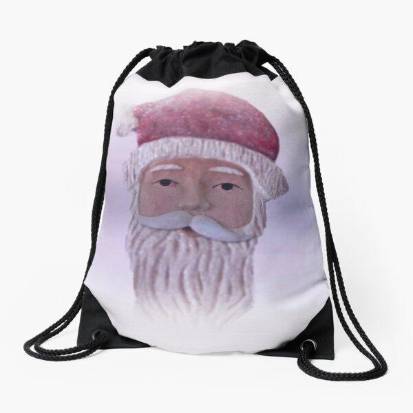 Old Saint Nicholas    Drawstring Bag