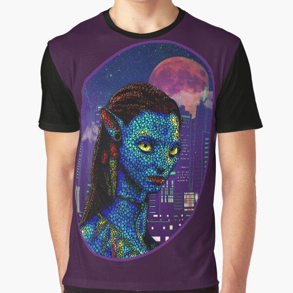 Neytiri in Newyork City 2 Graphic T-Shirt