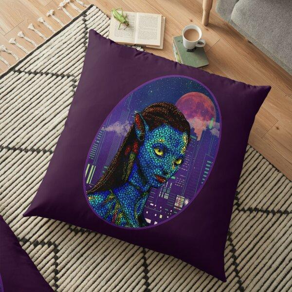 Neytiri in Newyork City 2 Floor Pillow