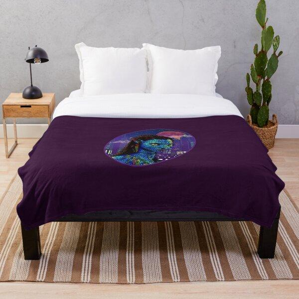 Neytiri in Newyork City 2 Throw Blanket