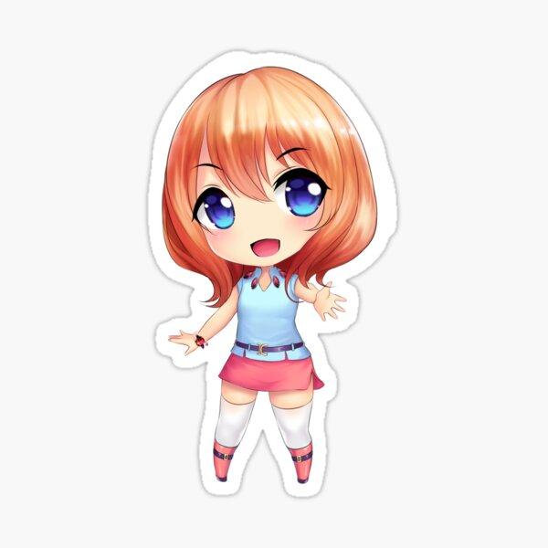 Chibi Dee Dee Sticker