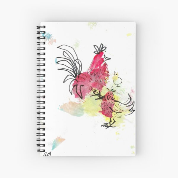 Chicken Licken  Spiral Notebook