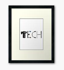 TECH Framed Print