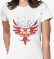 Brawling Brothers Design 2 Women's Fitted T-Shirt