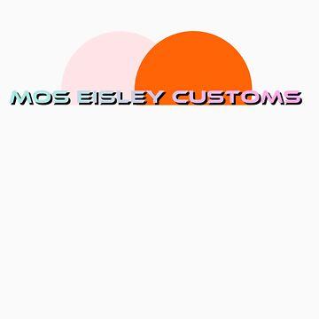 Mos Eisley Customs - Shirt by joshalex5