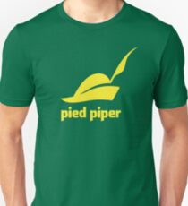 Pied Piper T-Shirt (Green/Yellow) Unisex T-Shirt
