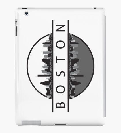 Boston Massachusetts Skyline iPad Case/Skin