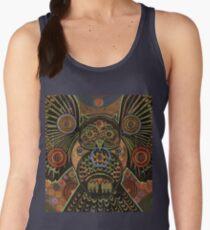 Big Bronze Owl Women's Tank Top