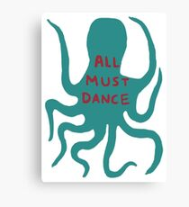 All must dance Canvas Print