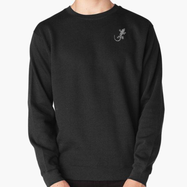 Gecko (White) [Small] Pullover Sweatshirt