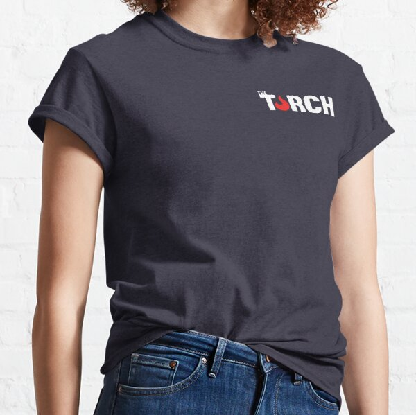 Standard Torch Logo - White Classic T-Shirt