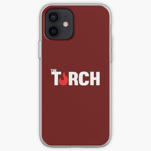 Standard Torch Logo - White iPhone Soft Case