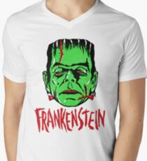 FRANKENSTEIN - Vintage 1960's Style! Men's V-Neck T-Shirt