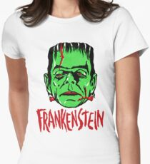 FRANKENSTEIN - Vintage 1960's Style! Women's Fitted T-Shirt