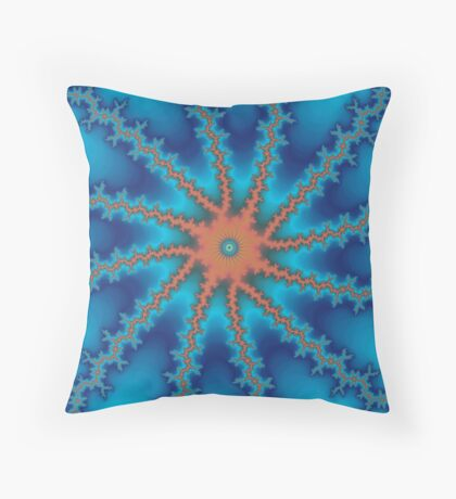Abstract Modern Art #2 Throw Pillow