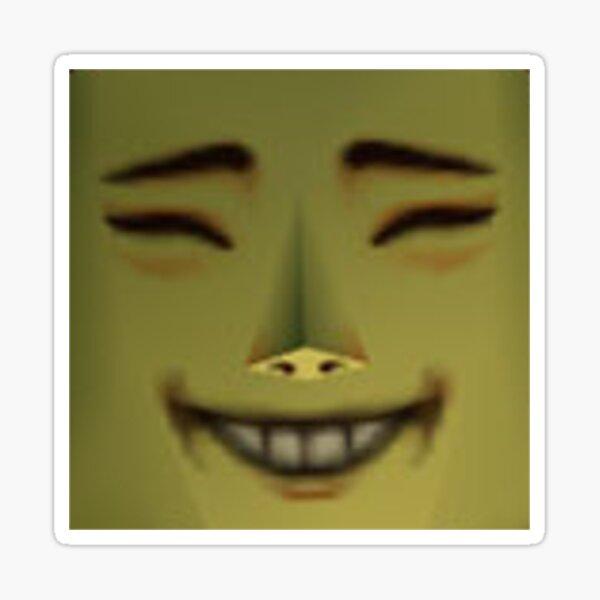 Happy Mask Salesman is Happy Sticker