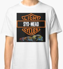 Syd Mead Light Cycles Classic T-Shirt