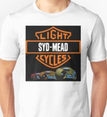 Syd Mead Light Cycles T-Shirt